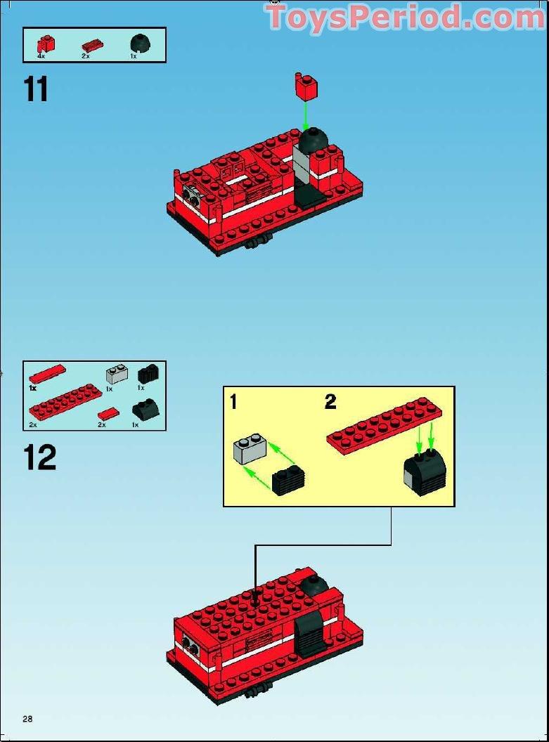 Free Custom Lego Train Instructions