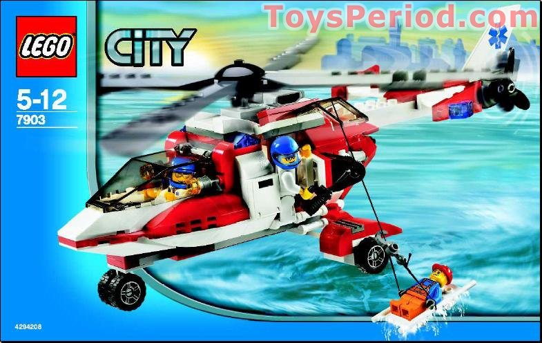 ... Helicopter Set Parts Inventory and Instructions - LEGO Reference Guide