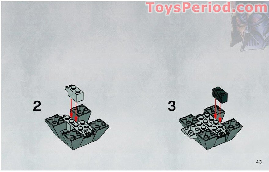 lego death star tie fighter instructions