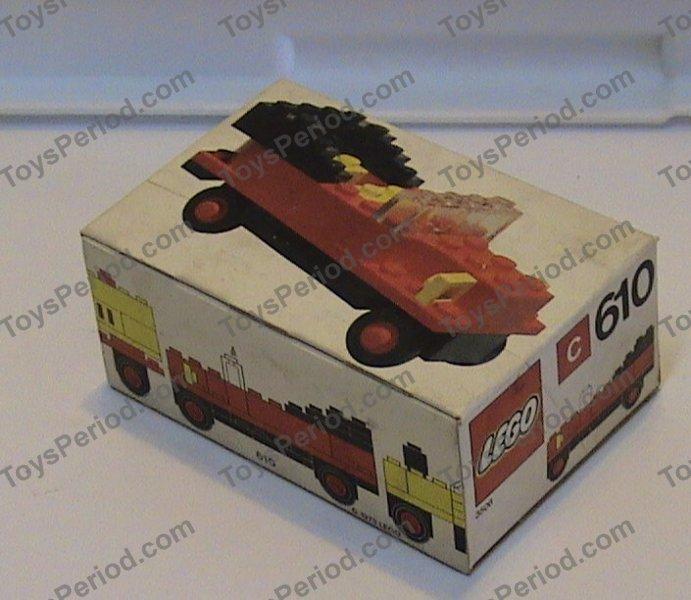 LEGO 610-1 Vintage Car Image 2