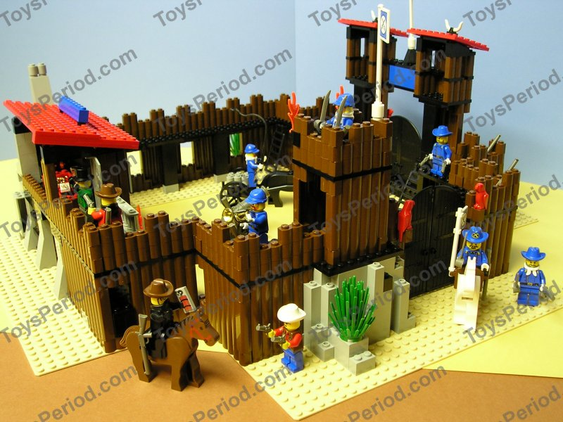 LEGO System Set 6769 FORT LEGOREDO & 6716 Covered Wagon ... |Lego Wild West Fort
