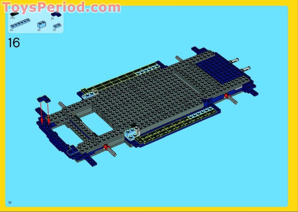 Lego 10187 Volkswagen Beetle Vw Beetle Set Parts Inventory And