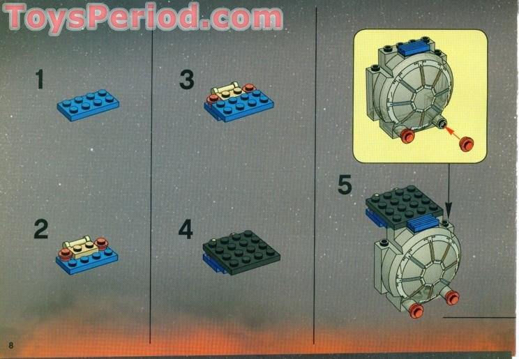 Lego 7263 Tie Fighter Set Parts Inventory And Instructions