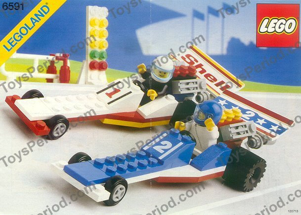 Lego 6591 Nitro Dragsters Set Parts Inventory And Instructions
