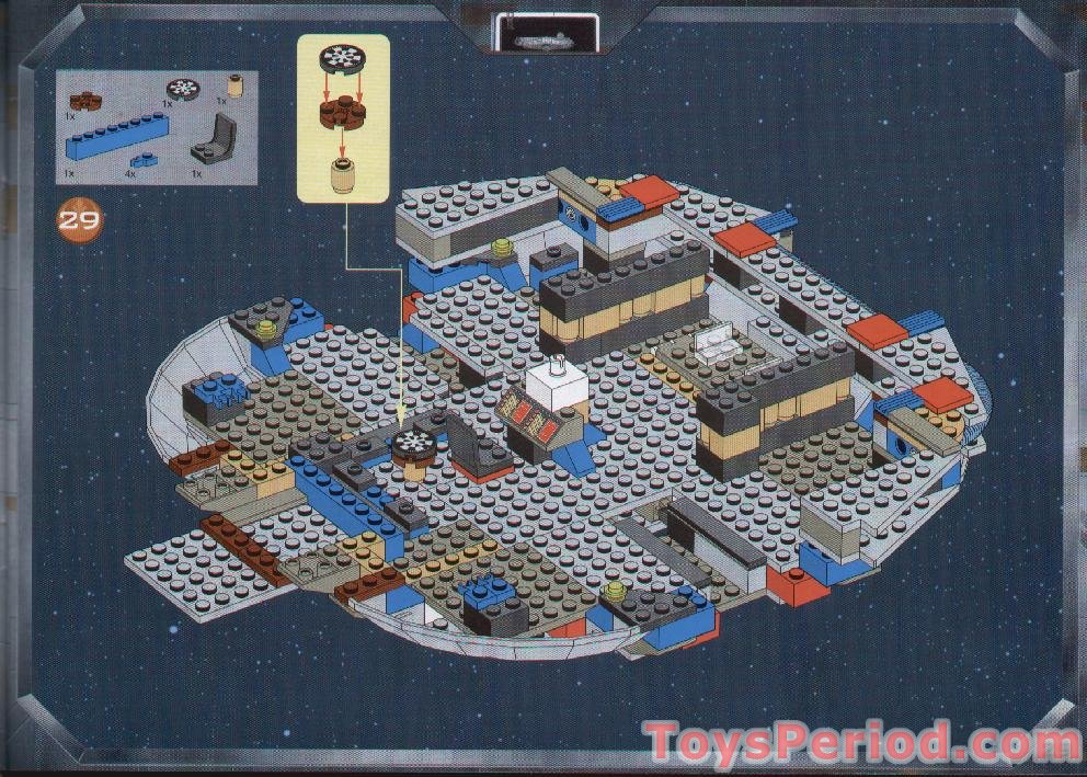 lego millennium falcon instructions pdf