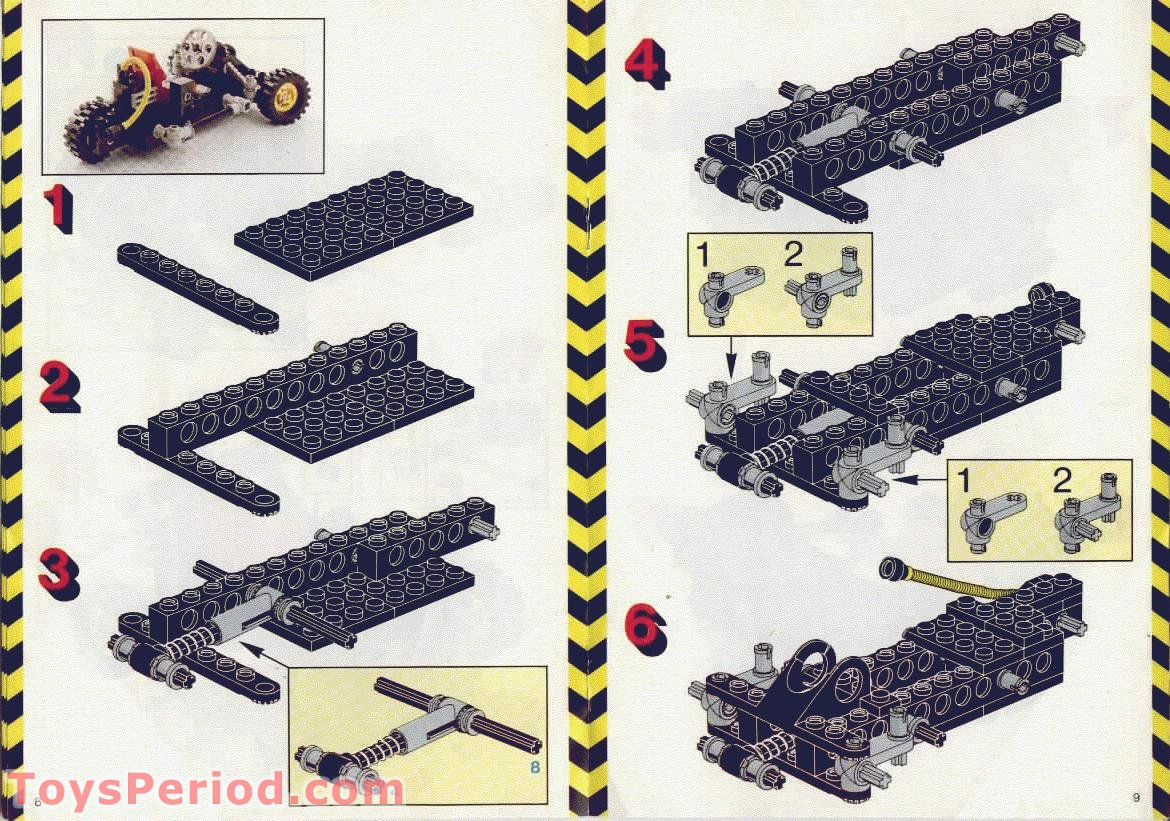 lego 8832 roadster set parts inventory and instructions lego reference guide. Black Bedroom Furniture Sets. Home Design Ideas
