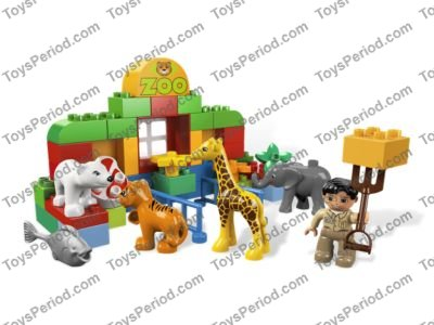 LEGO 6136 My First Zoo Set Parts Inventory and Instructions - LEGO ...