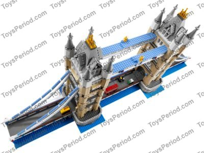 Lego 10214 Tower Bridge Set Parts Inventory And Instructions Lego Reference Guide