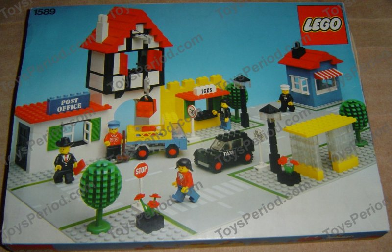 LEGO 1589-1 Town Square Set Parts Inventory and Instructions - LEGO ...