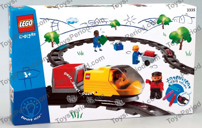 Lego 3335 Intelli Train Starter Set Set Parts Inventory And