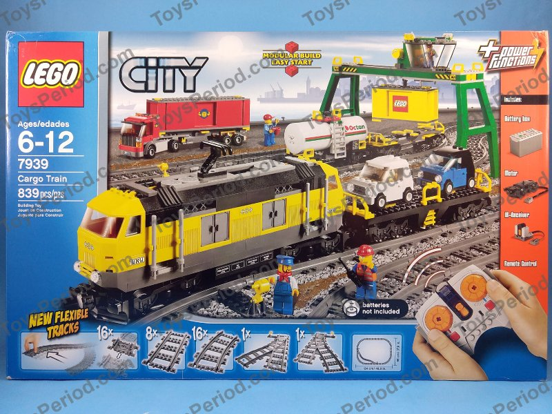 Town Theme Sets - LEGO 7939 Cargo Train Retired 2010 City ...