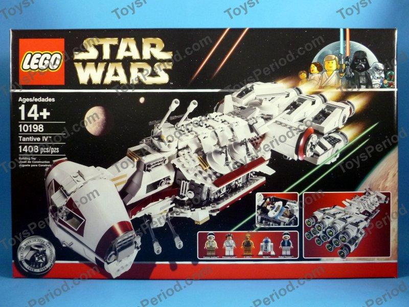 Star Wars Sets Lego 10198 Tantive Iv Classic Star Wars Ship Retired Misb