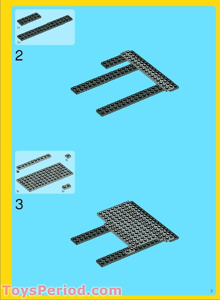lego green grocer building instructions