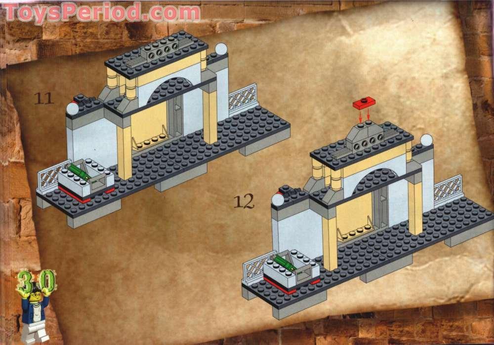 LEGO Dark Bluish Gray Castle Harry Potter Pirate Chest Key Accessory Piece
