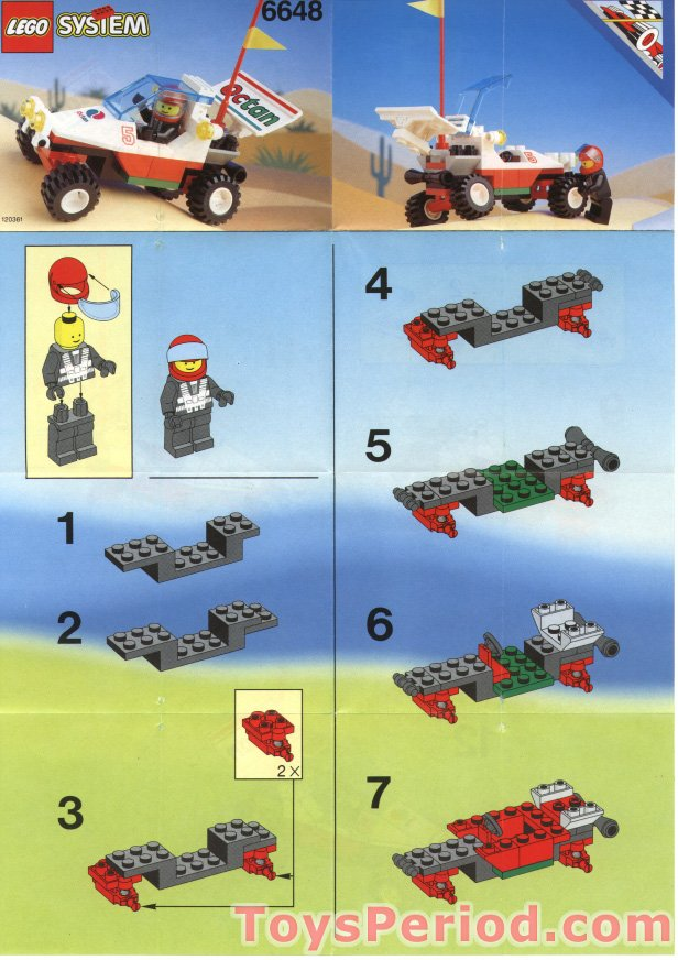 Lego 6648 1 Mag Racer Set Parts Inventory And Instructions Lego
