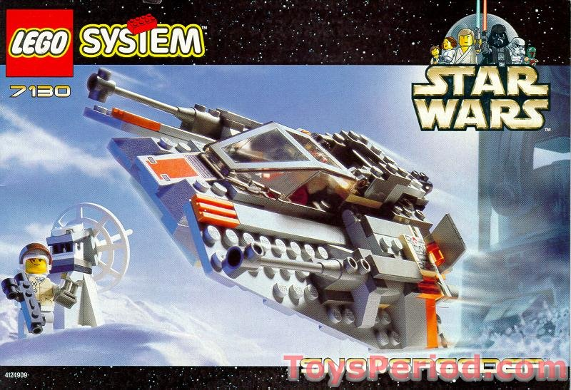 Lego 7130 Snowspeeder Set Parts Inventory And Instructions Lego