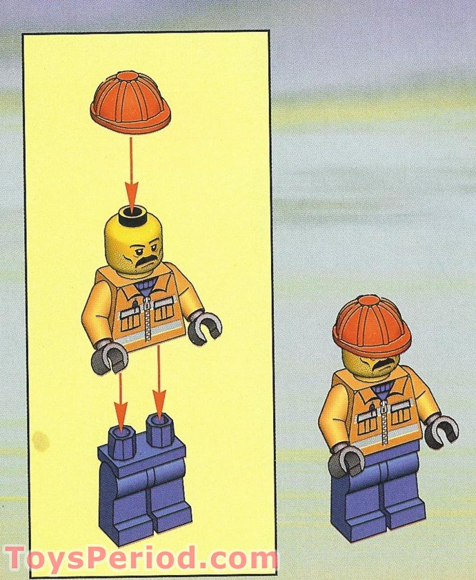 lego street sweeper instructions