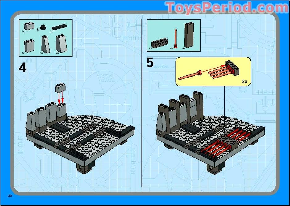 lego cloud city instructions