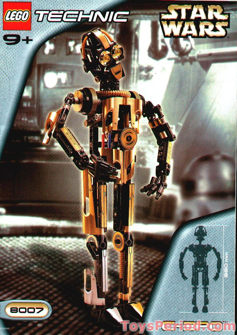 Lego 8007 c 3po set parts inventory and instructions - Image star wars lego ...