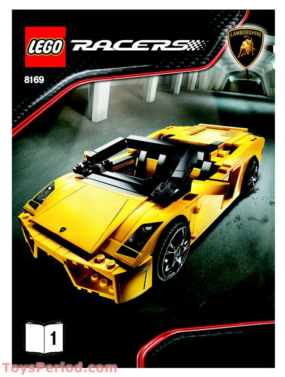 Lego 8169 Lamborghini Gallardo Lp 560 4 Set Parts