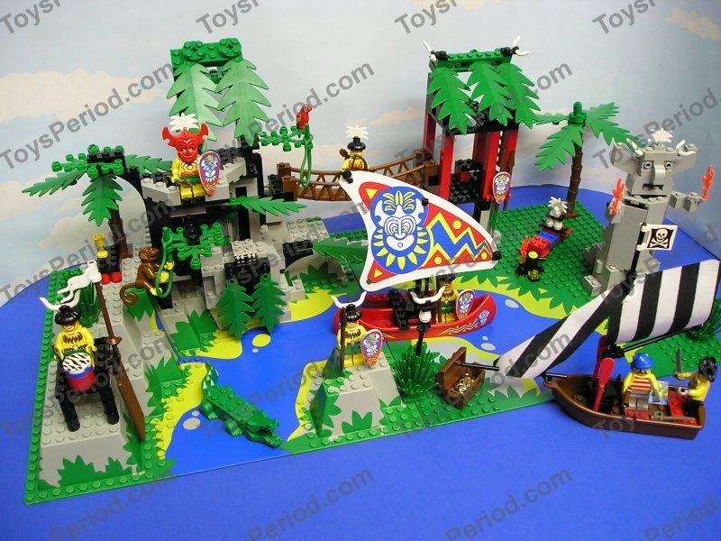 LEGO 6278 Enchanted Island Pirates Islanders Rare Set