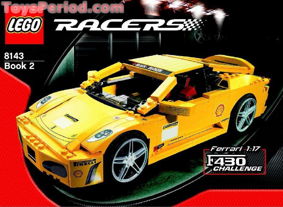 Lego 8143 Ferrari 1 17 F430 Challenge Set Parts Inventory