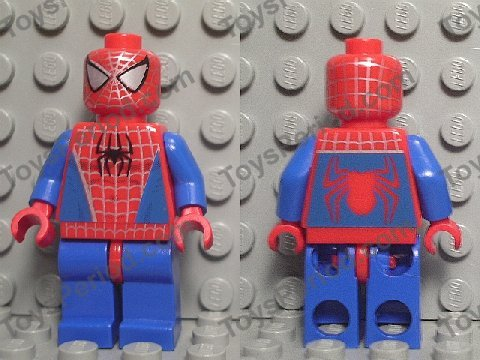 Lego legs for Spiderman Minifigure from 4851 NEW minifig parts