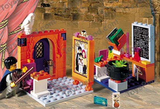 LEGO 4721 Hogwarts Classroom Set Parts Inventory and ...
