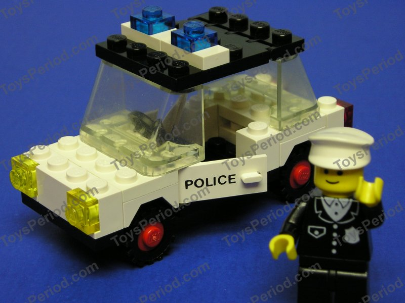 Lego Old Police Car