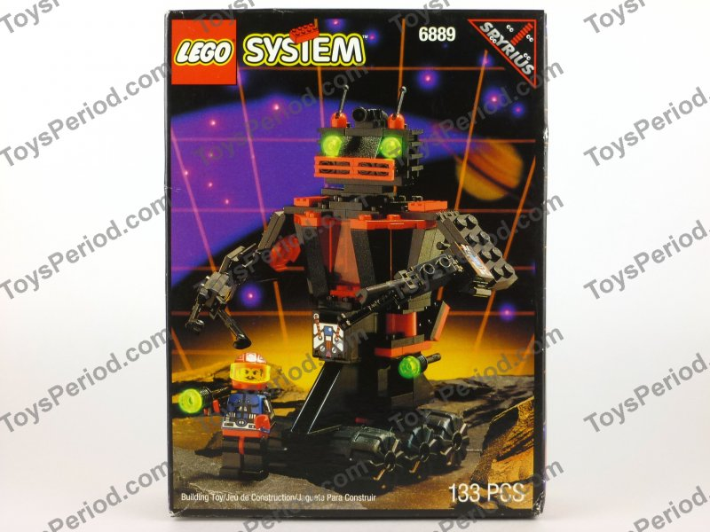 Space Theme Sets Lego 6889 Recon Robot Vintage 90s Spyrius Space