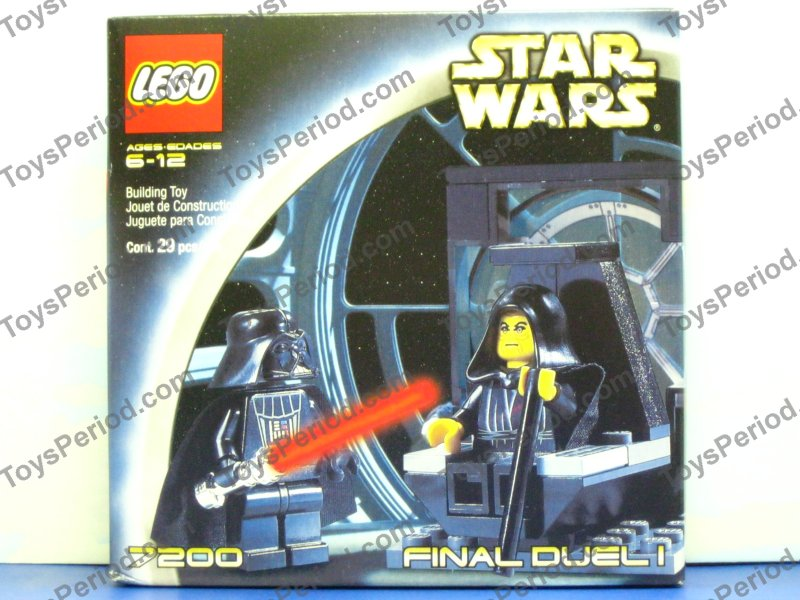 LEGO STAR WARS 7200 FINAL DUEL I DARTH VADER /& EMPEROR PALPATINE MINIFIGURES