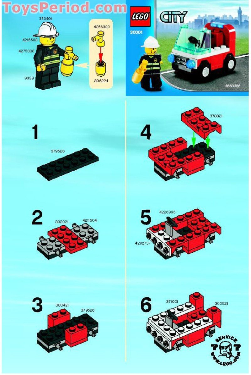 Lego F Race Car Instructions