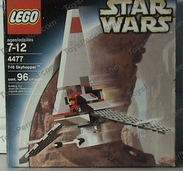 Star Wars Lego 4477 t-16 sky hopper 100/% complete