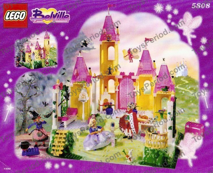 Lego 5808 The Enchanted Palace Set Parts Inventory And Instructions