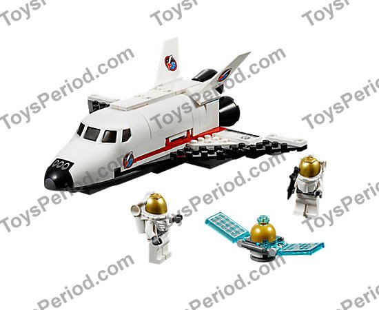 Lego 60078 Utility Shuttle Set Parts Inventory And Instructions