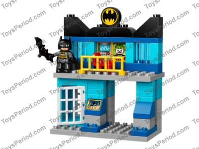 LEGO 10842 Batcave Challenge Set Parts Inventory and Instructions ...