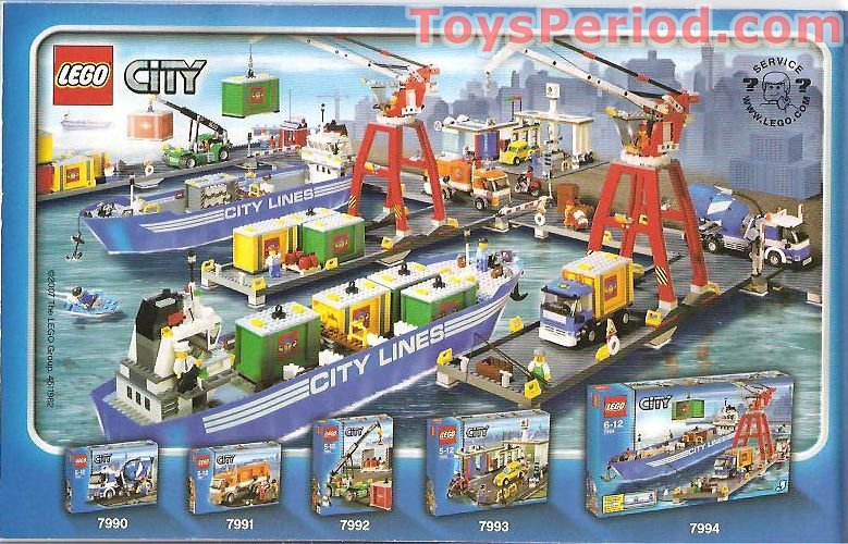 LEGO 7990 Cement Mixer Set Parts Inventory and Instructions - LEGO ...