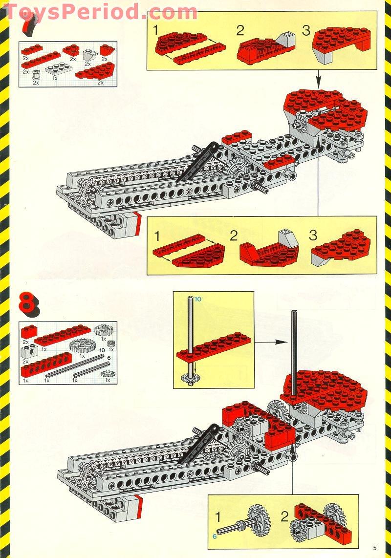 Missing Lego Brick 4274 OldGray x 10 Technic Pin 0.5
