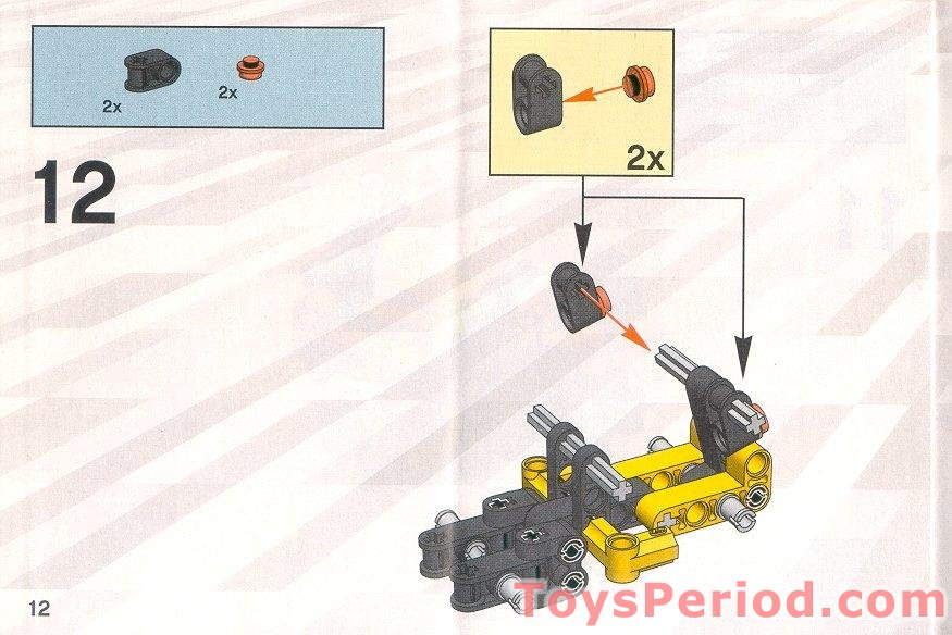 lego forklift truck instructions