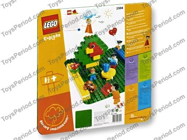 LEGO 2304 Large Green Building Plate  sc 1 st  ToysPeriod & LEGO 2304 Large Green Building Plate Set Parts Inventory and ...
