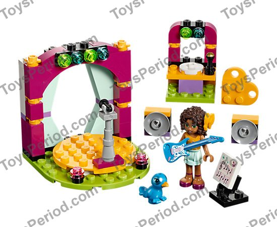 LEGO 41309 Andrea's Musical Duet Set Parts Inventory and ...