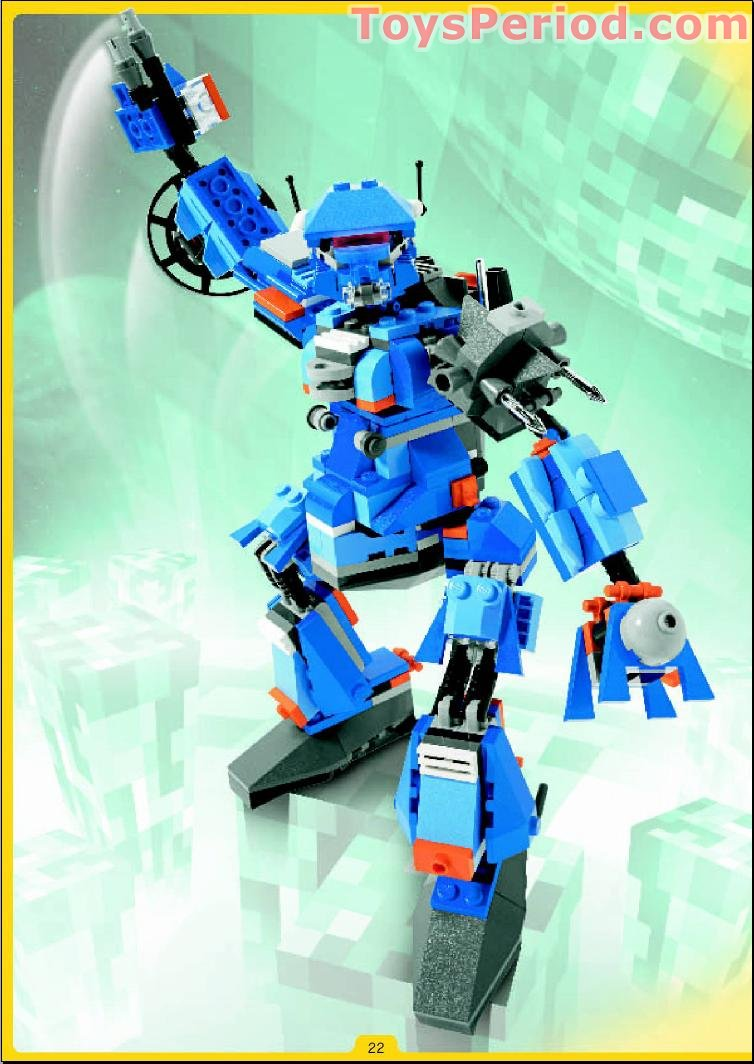 lego 4099 robobots set parts inventory and instructions