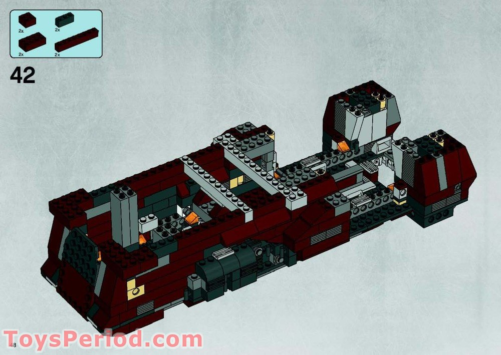 Lego Star Wars Mtt 7662 Instructions