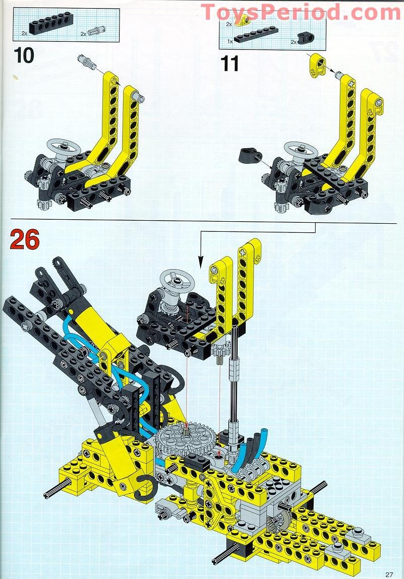 5 x LEGO TECHNIC OldGray Beam 3 x 0.5 Liftarm ref 6632 Set 8480 8459 8464 4565
