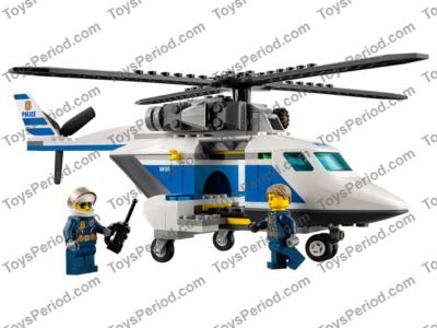 Lego Police Helicopter Instructions 60138
