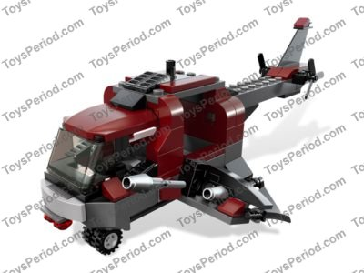 Lego 6866 Wolverines Chopper Showdown Set Parts Inventory And