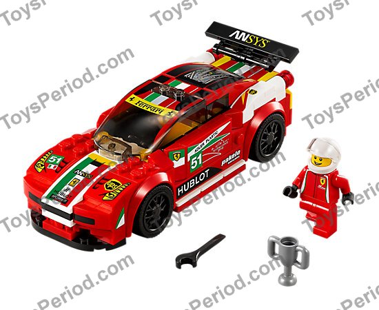 Lego 75908 458 Italia Gt2 Set Parts Inventory And Instructions