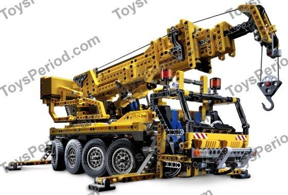 lego 8421 mobile crane set parts inventory and. Black Bedroom Furniture Sets. Home Design Ideas