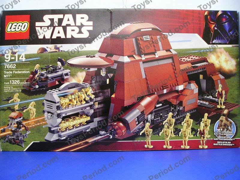 Star Wars Sets - LEGO 7662 Trade Federation MTT Star Wars