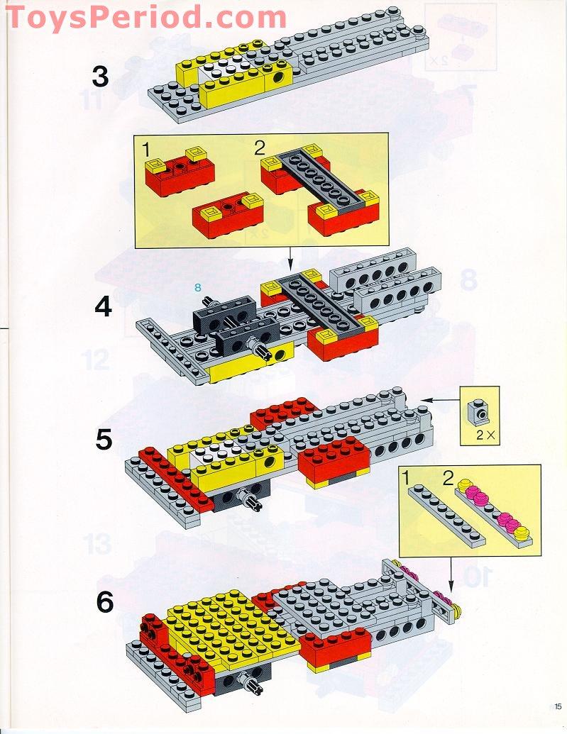 Lego 715 basic building set 7 plus set parts inventory and - Plus belle construction lego ...